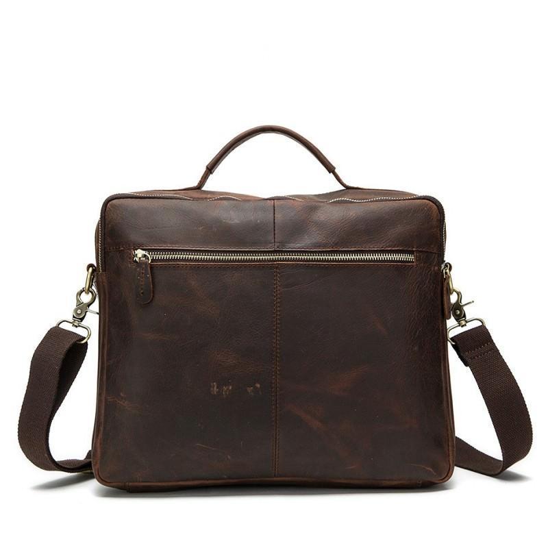Мужская кожаная сумка-портфель Westborn Bestseller – натуральная кожа, солидный дизайн 194973