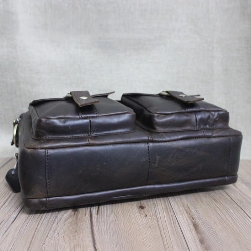 Мужская кожаная сумка-портфель Westborn Bestseller – натуральная кожа, солидный дизайн 194976