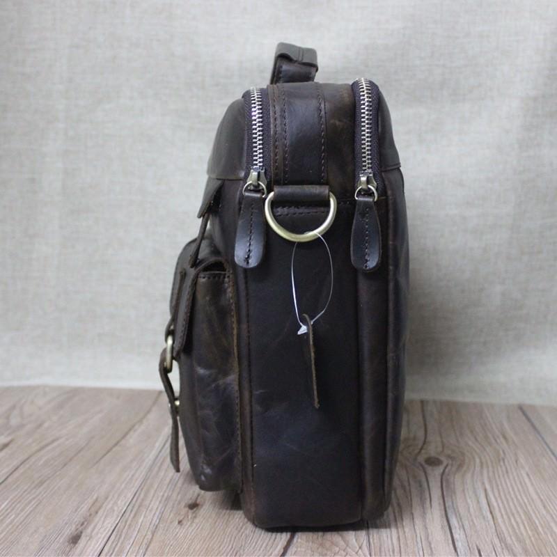 Мужская кожаная сумка-портфель Westborn Bestseller – натуральная кожа, солидный дизайн 194977