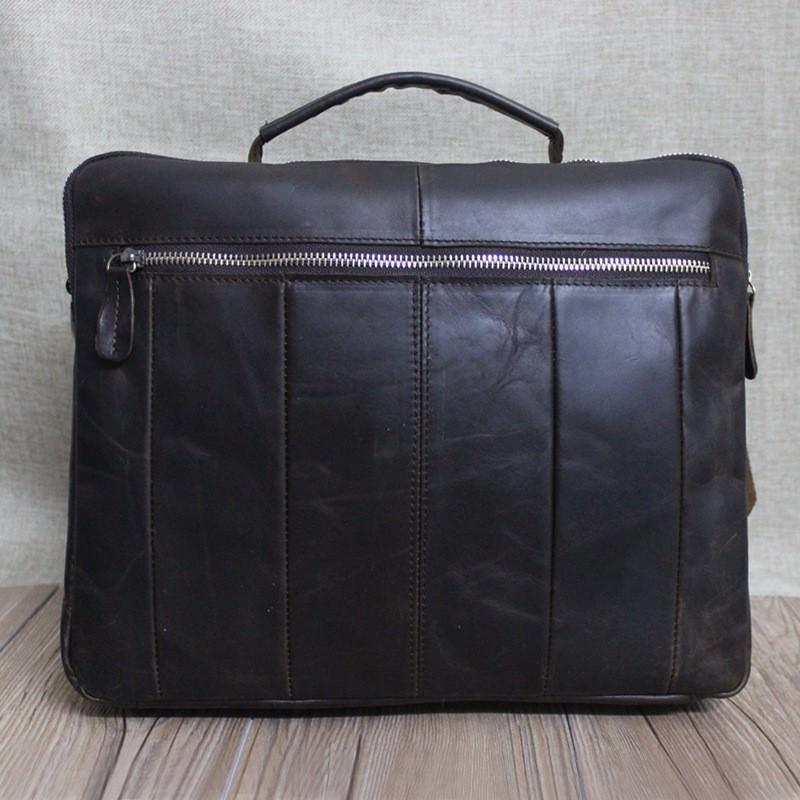 Мужская кожаная сумка-портфель Westborn Bestseller – натуральная кожа, солидный дизайн 194978