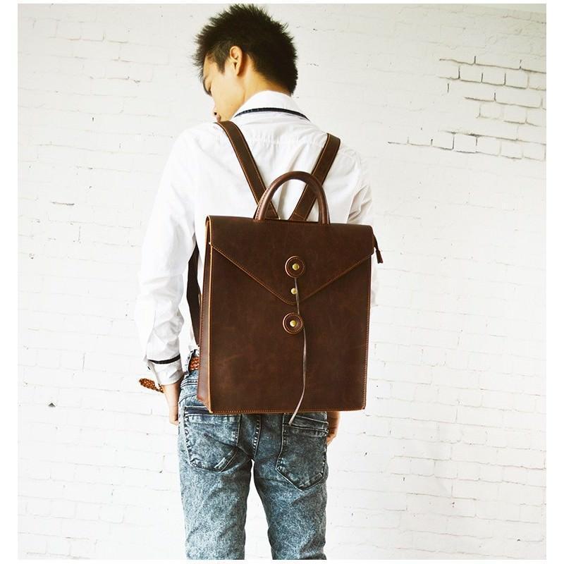 Мужская сумка-рюкзак в ретро стиле O`Honor Letter 195006