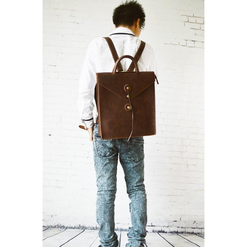 Мужская сумка-рюкзак в ретро стиле O`Honor Letter 195007
