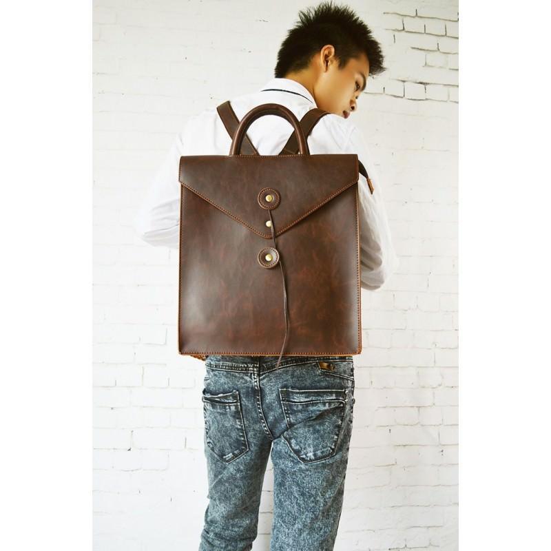 Мужская сумка-рюкзак в ретро стиле O`Honor Letter 195008
