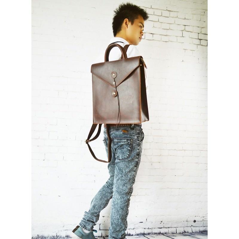 Мужская сумка-рюкзак в ретро стиле O`Honor Letter 195009