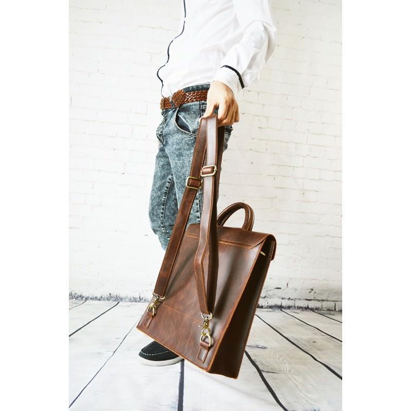 Мужская сумка-рюкзак в ретро стиле O`Honor Letter 195010