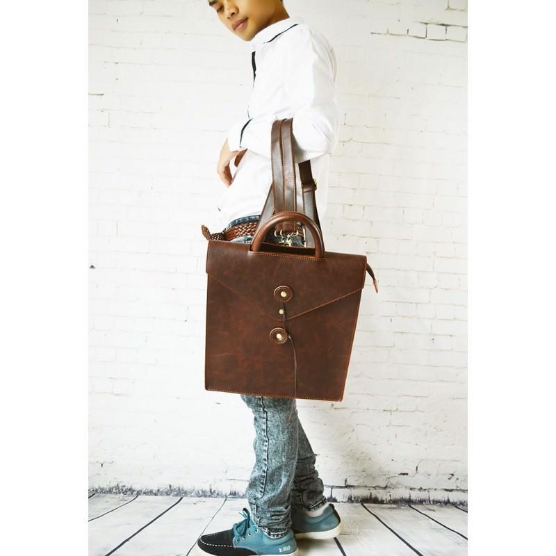 Мужская сумка-рюкзак в ретро стиле O`Honor Letter 195011