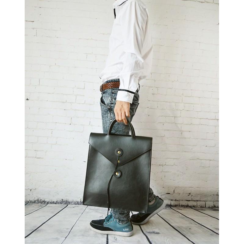 Мужская сумка-рюкзак в ретро стиле O`Honor Letter 195014