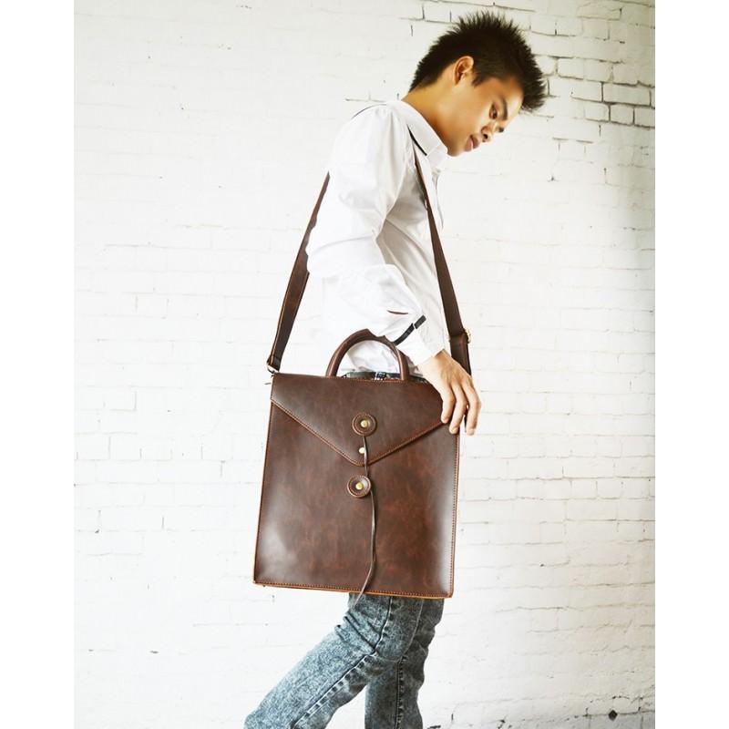 Мужская сумка-рюкзак в ретро стиле O`Honor Letter 195021