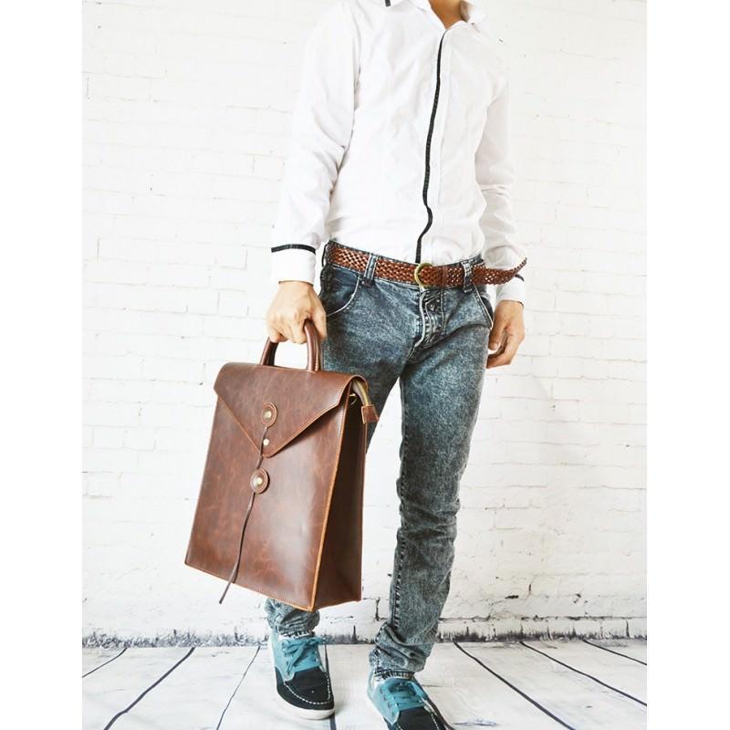Мужская сумка-рюкзак в ретро стиле O`Honor Letter 195023