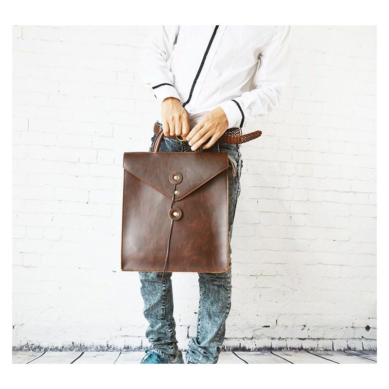 Мужская сумка-рюкзак в ретро стиле O`Honor Letter 195024