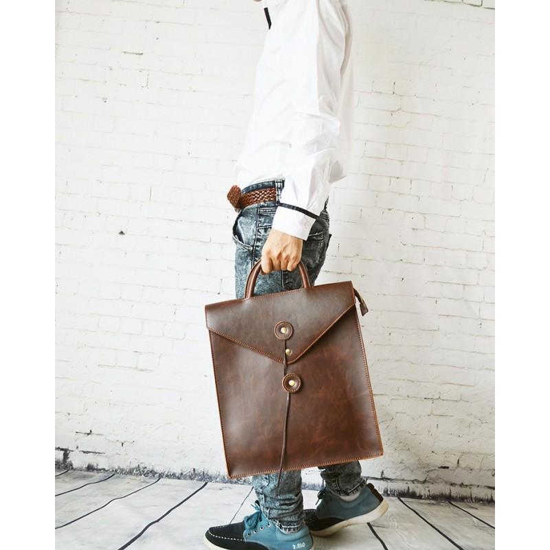 Мужская сумка-рюкзак в ретро стиле O`Honor Letter 195025