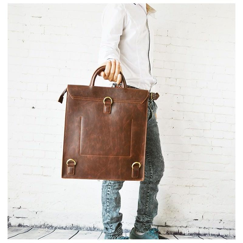 Мужская сумка-рюкзак в ретро стиле O`Honor Letter 195026
