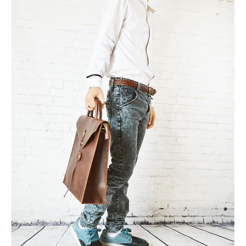 Мужская сумка-рюкзак в ретро стиле O`Honor Letter 195027