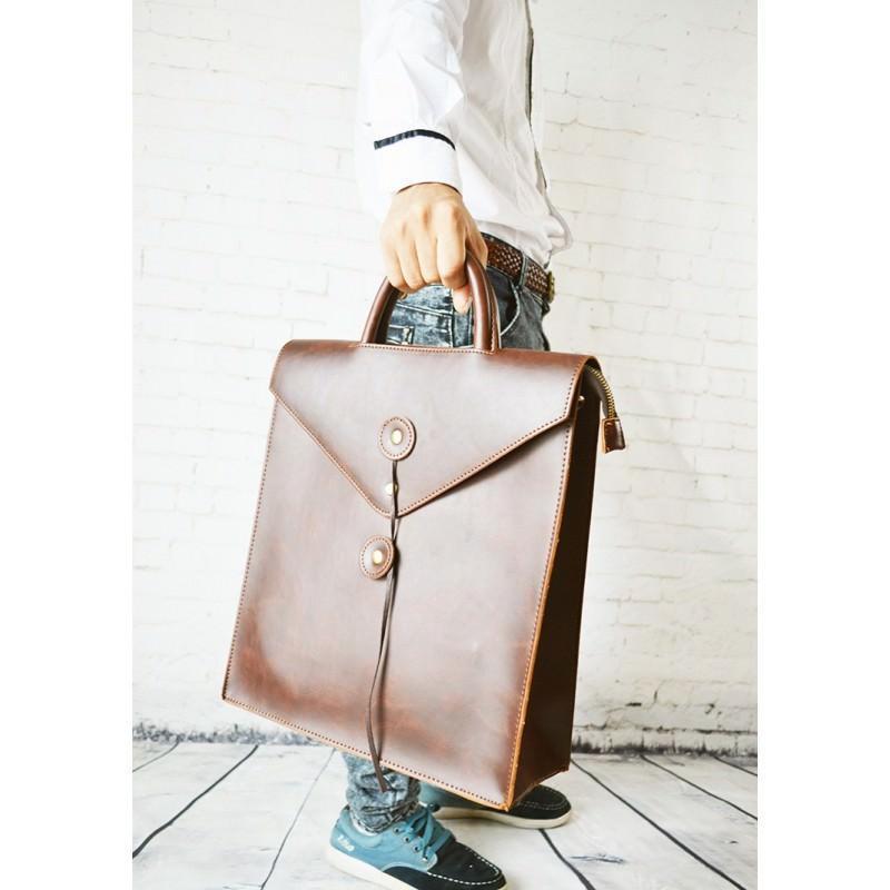 Мужская сумка-рюкзак в ретро стиле O`Honor Letter 195028