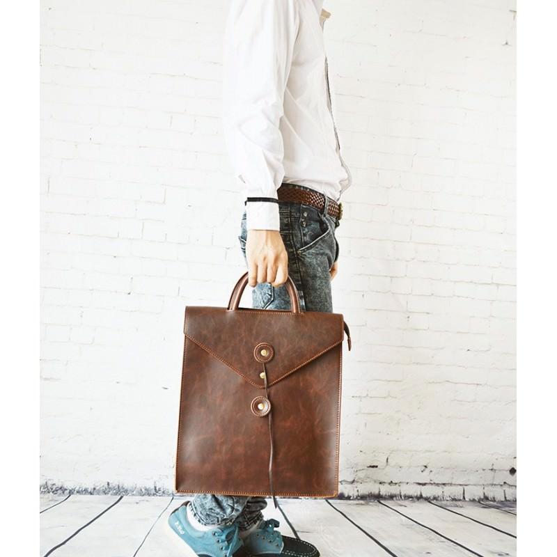 Мужская сумка-рюкзак в ретро стиле O`Honor Letter 195029