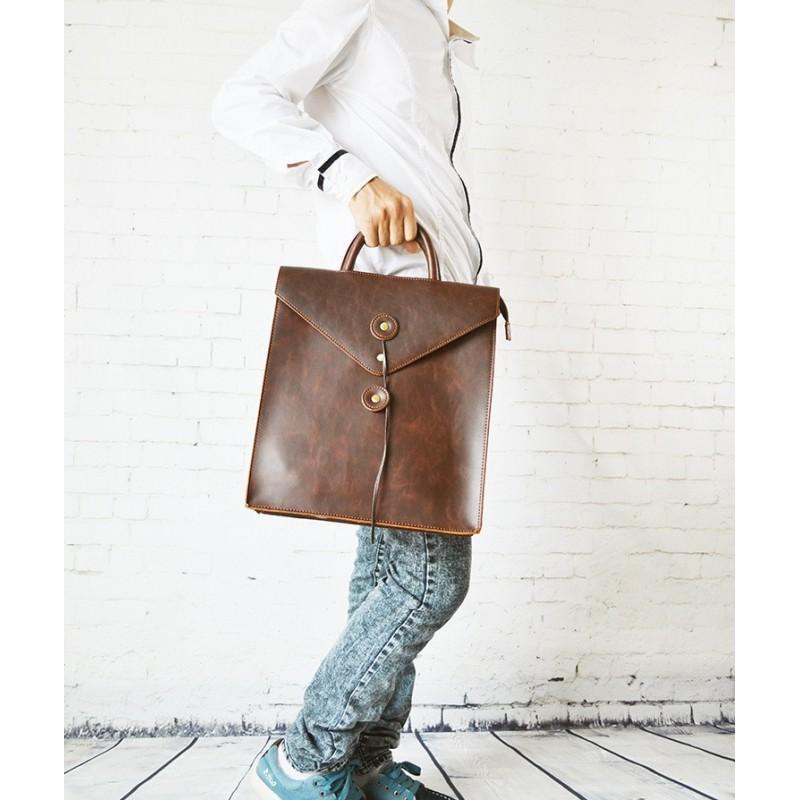 Мужская сумка-рюкзак в ретро стиле O`Honor Letter 195030