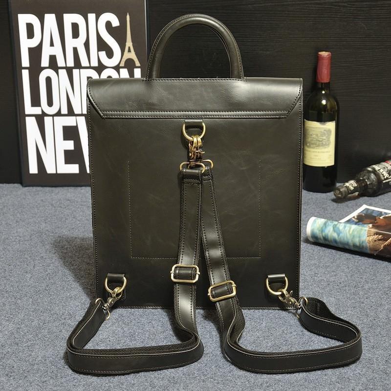Мужская сумка-рюкзак в ретро стиле O`Honor Letter 195036
