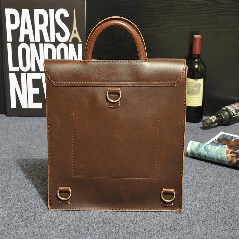Мужская сумка-рюкзак в ретро стиле O`Honor Letter 195037