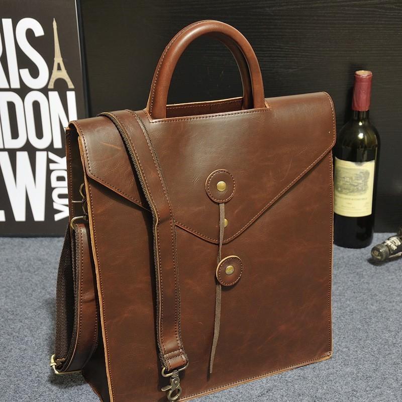 14474 - Мужская сумка-рюкзак в ретро стиле O`Honor Letter