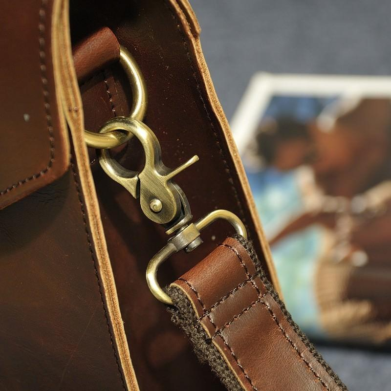 Мужская сумка-рюкзак в ретро стиле O`Honor Letter 195043