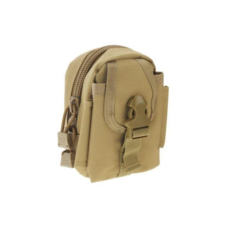 1448 - Многофункциональная камуфляжная нейлоновая сумка на пояс Landing для камеры, телефона и других вещей