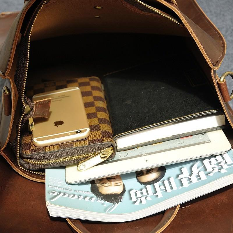 Мужская сумка-рюкзак в ретро стиле O`Honor Letter 195051