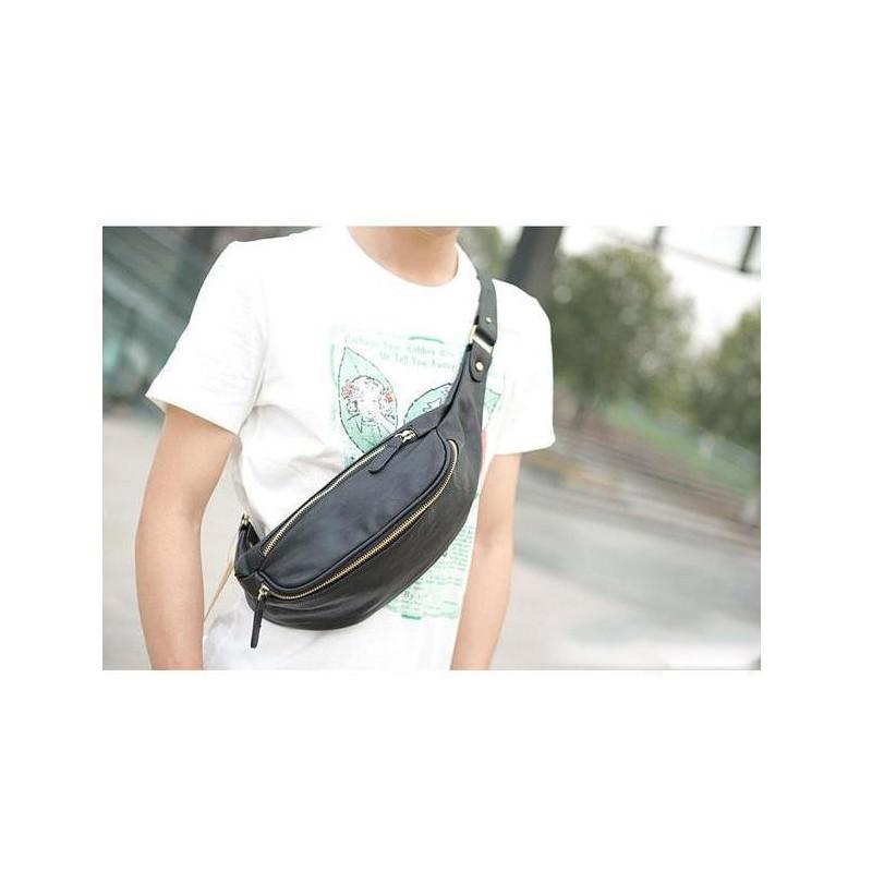 Мужская наплечная сумка (однолямочный рюкзак) O`Honor Mishima 195059