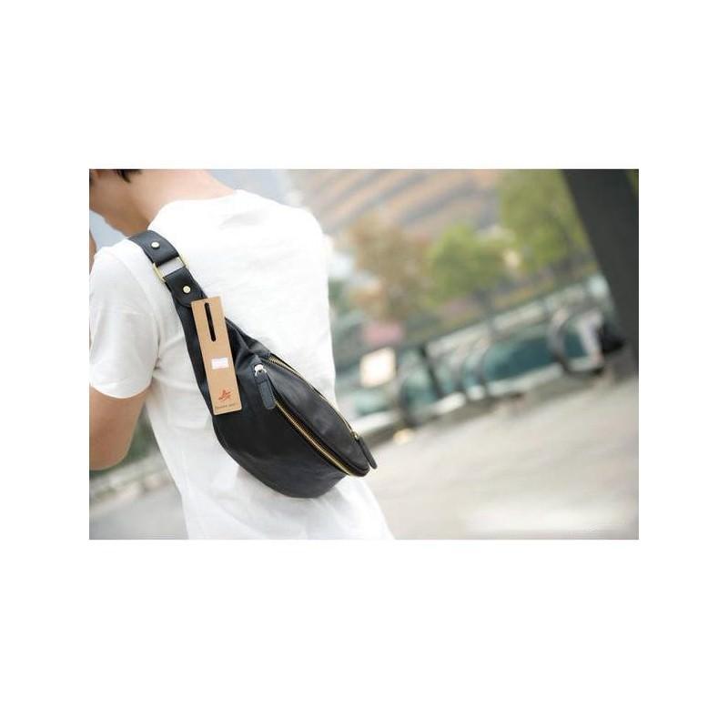 Мужская наплечная сумка (однолямочный рюкзак) O`Honor Mishima 195061