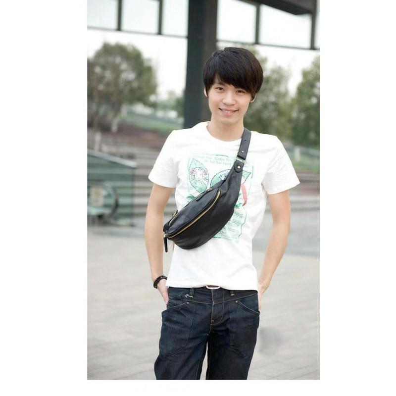 Мужская наплечная сумка (однолямочный рюкзак) O`Honor Mishima 195062