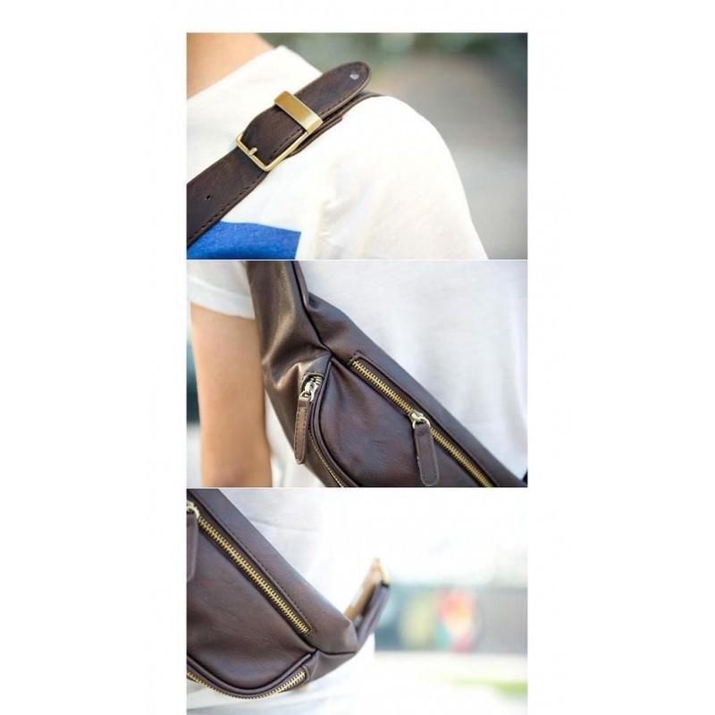 Мужская наплечная сумка (однолямочный рюкзак) O`Honor Mishima 195063