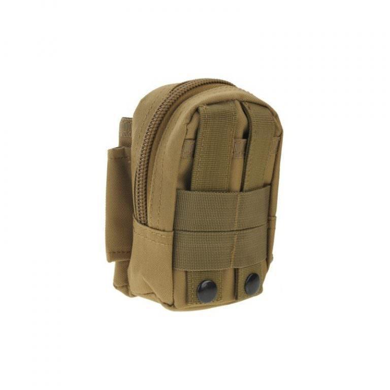 1450 - Многофункциональная камуфляжная нейлоновая сумка на пояс Landing для камеры, телефона и других вещей