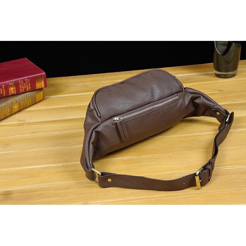 Мужская наплечная сумка (однолямочный рюкзак) O`Honor Mishima 195075
