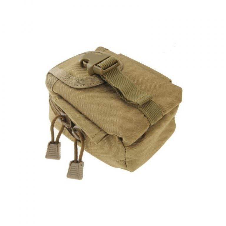 1451 - Многофункциональная камуфляжная нейлоновая сумка на пояс Landing для камеры, телефона и других вещей