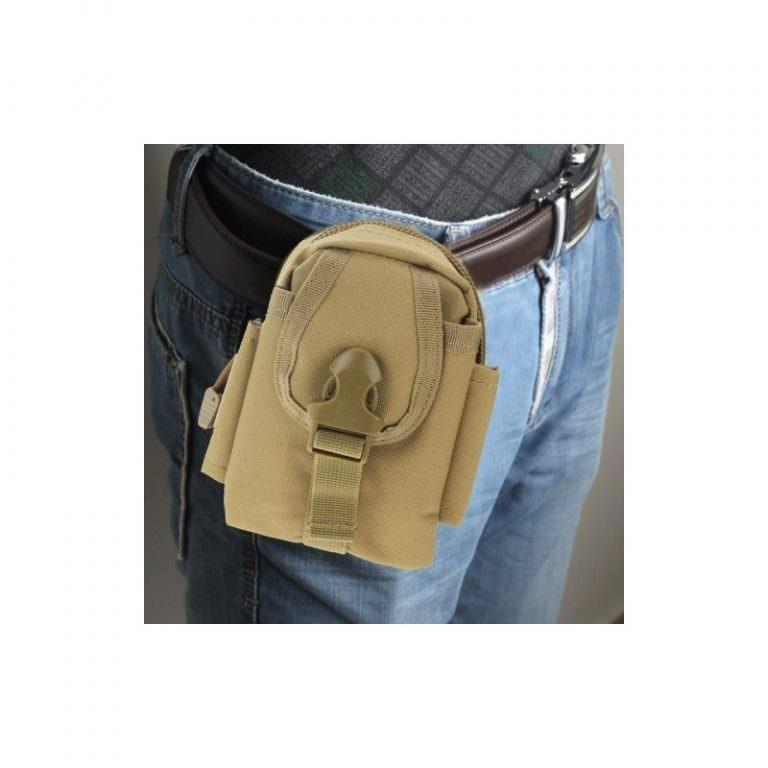 1454 - Многофункциональная камуфляжная нейлоновая сумка на пояс Landing для камеры, телефона и других вещей