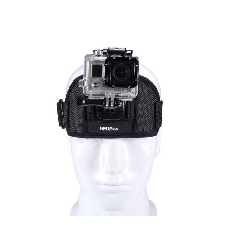 Крепление на голову NEOpine для камер GoPro HERO и Xiaomi Yi Sport