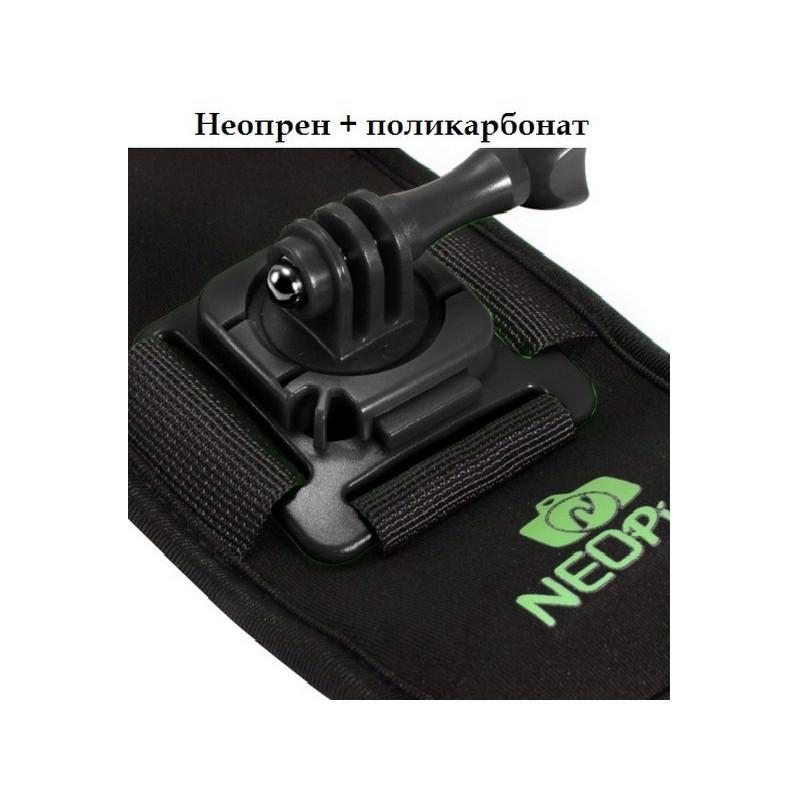 Крепление на рюкзак для экшн-камеры от NEOpine – держатель с функцией поворота на 360 градусов 195131