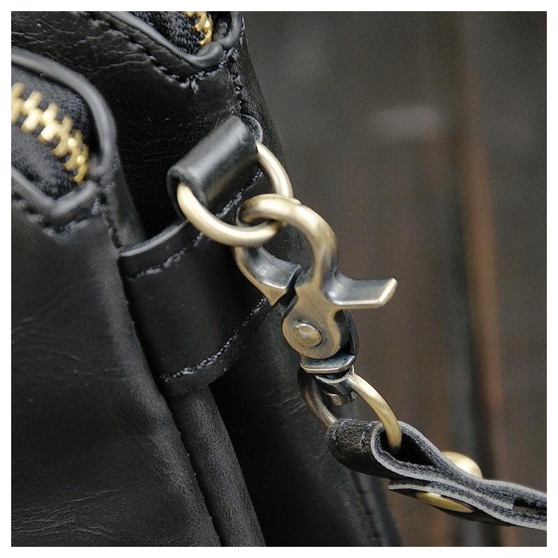 Мужская кожаная сумка-кошель O`Honor Univers – 3 способа крепления, 2 отделения 195141