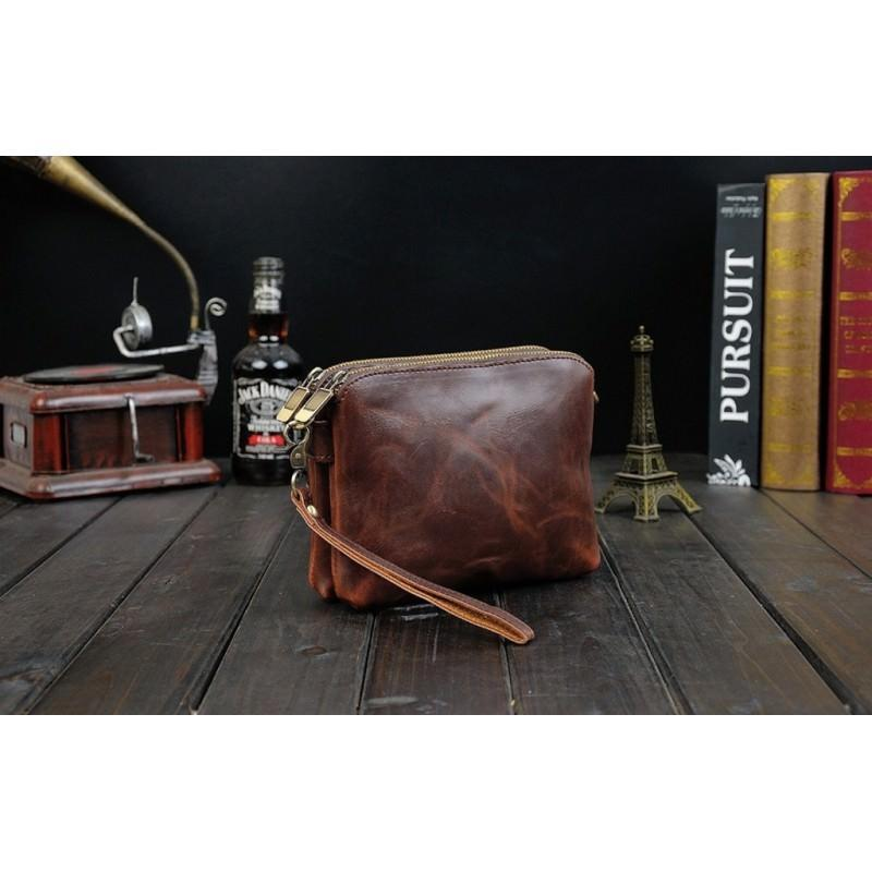 Мужская кожаная сумка-кошель O`Honor Univers – 3 способа крепления, 2 отделения 195143