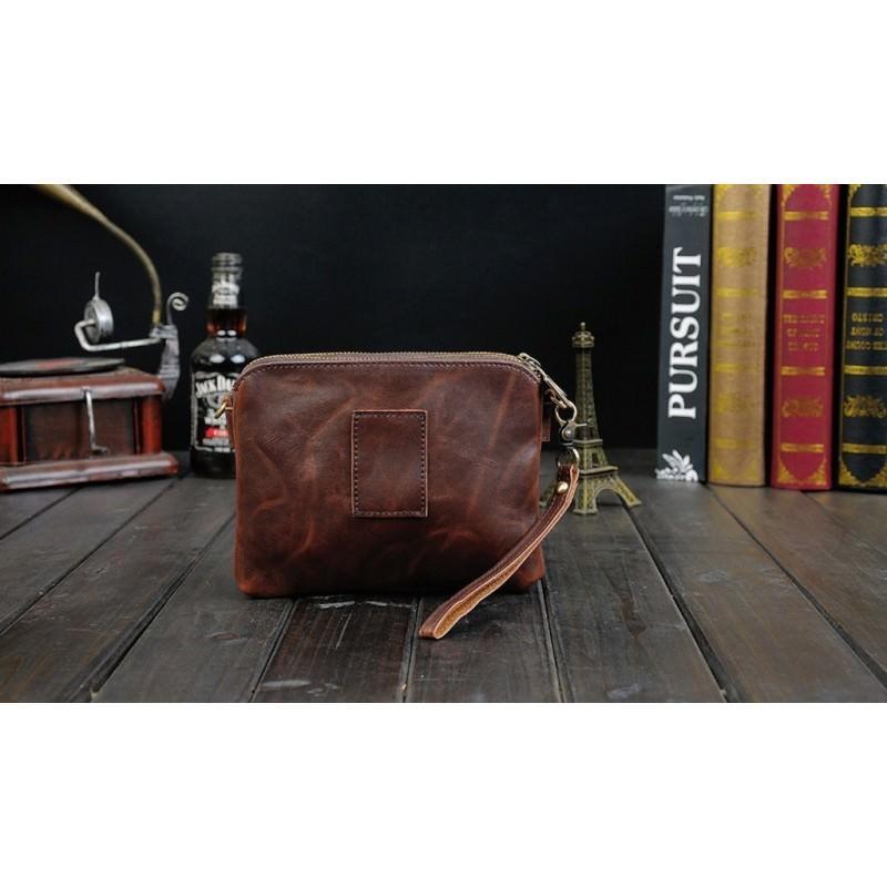 Мужская кожаная сумка-кошель O`Honor Univers – 3 способа крепления, 2 отделения 195144