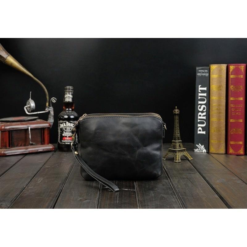 Мужская кожаная сумка-кошель O`Honor Univers – 3 способа крепления, 2 отделения 195145
