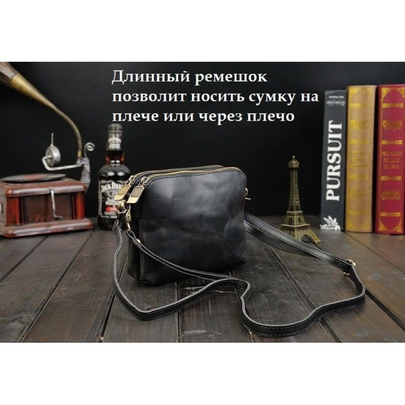 Мужская кожаная сумка-кошель O`Honor Univers – 3 способа крепления, 2 отделения 195146