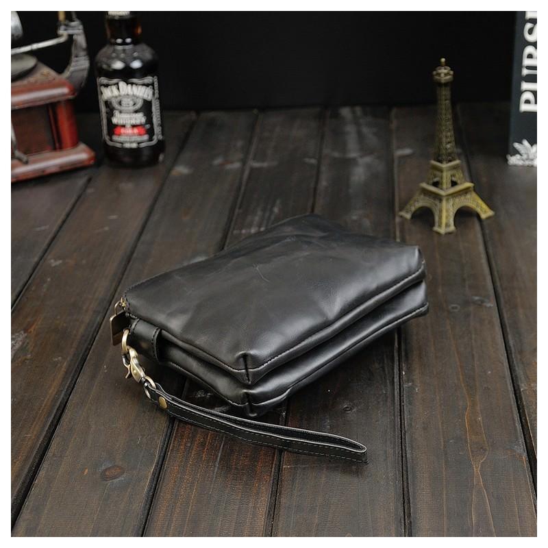 Мужская кожаная сумка-кошель O`Honor Univers – 3 способа крепления, 2 отделения 195149