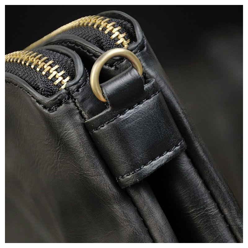Мужская кожаная сумка-кошель O`Honor Univers – 3 способа крепления, 2 отделения 195152