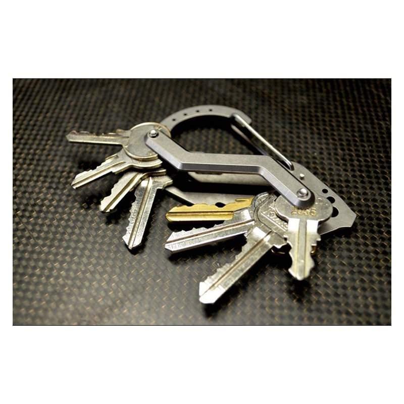 Органайзер для ключей Армейский + мультитул из нержавеющей стали