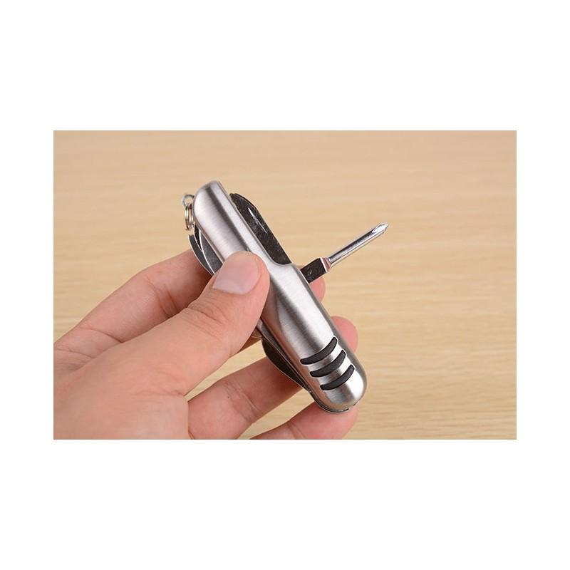 Многофункциональный нож-мультитул B1203: 12 инструментов в 1, нержавеющая сталь 195262