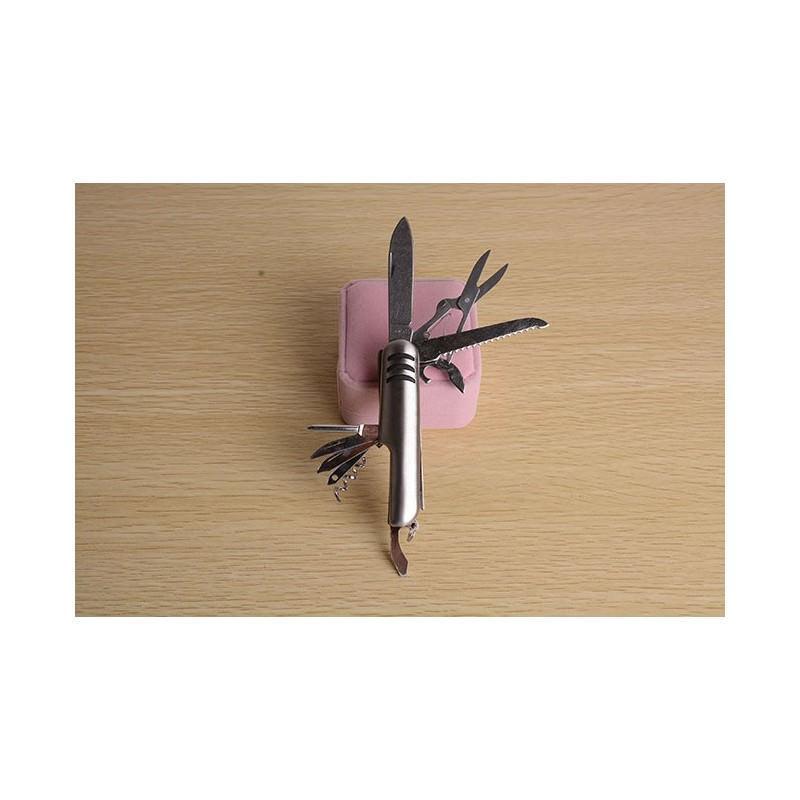 Многофункциональный нож-мультитул B1203: 12 инструментов в 1, нержавеющая сталь 195266