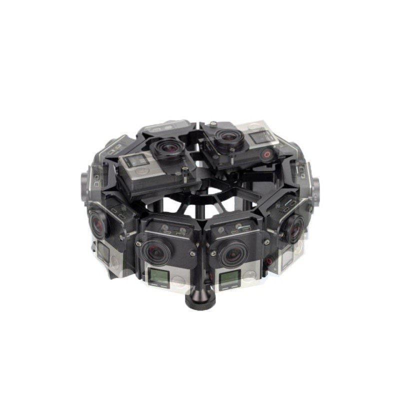 Алюминиевая многокамерная подставка-чехол для 12 камер GoPro HERO4 / 3 +