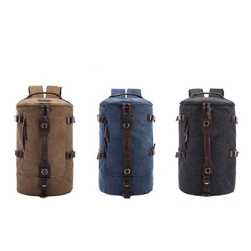 Дорожная сумка-рюкзак Dezerto Tubus: холщовая ткань, ручки-трансформеры, 45 л 195350