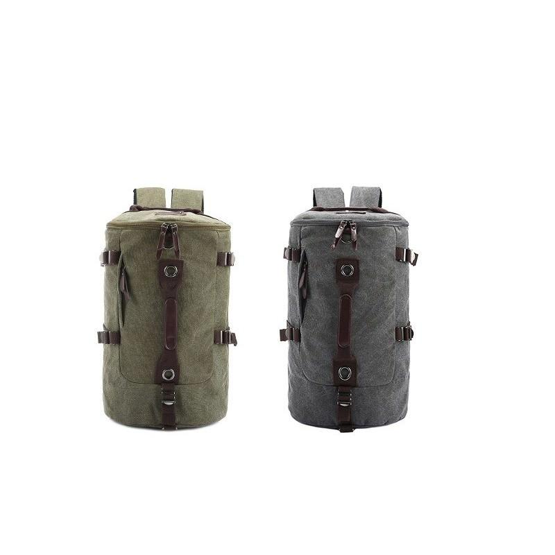 Дорожная сумка-рюкзак Dezerto Tubus: холщовая ткань, ручки-трансформеры, 45 л 195360