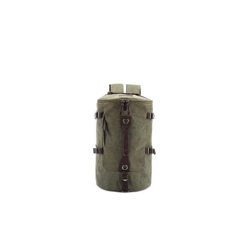 Дорожная сумка-рюкзак Dezerto Tubus: холщовая ткань, ручки-трансформеры, 45 л 195373